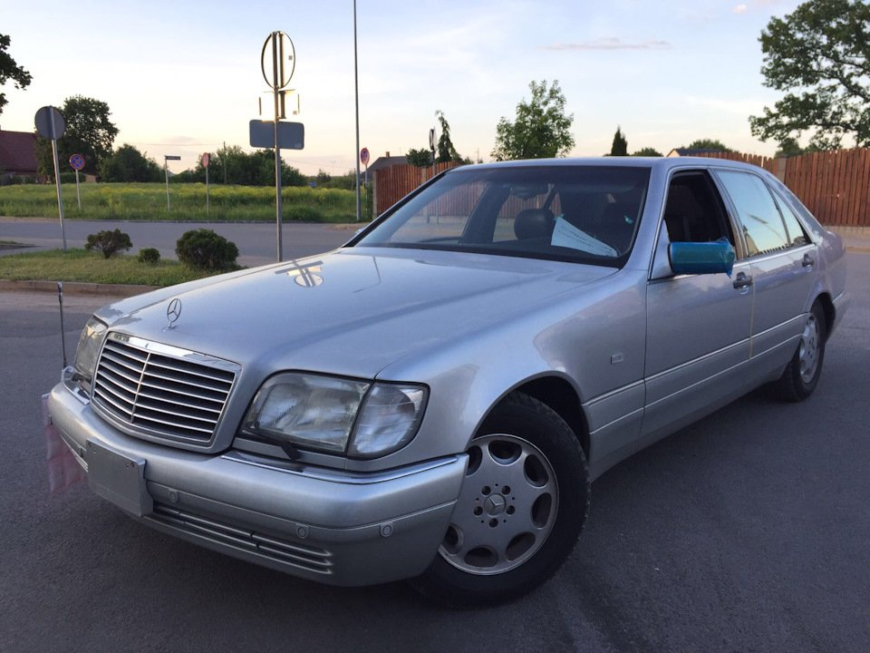 Mercedes S-class W140 S600 V12 (23)