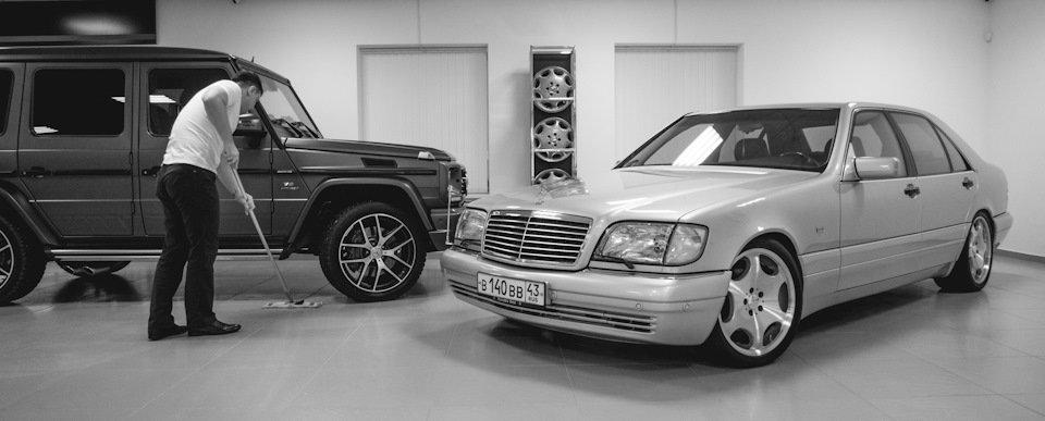 Mercedes S-class W140 S600 V12 (27)