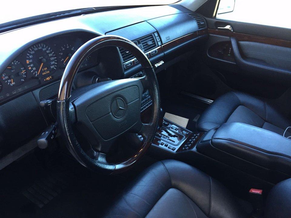 Mercedes S-class W140 S600 V12 (29)