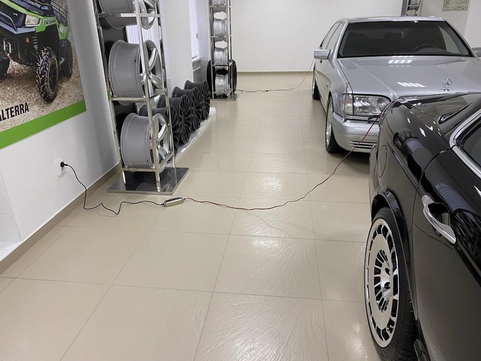 Mercedes S-class W140 S600 V12 (46)