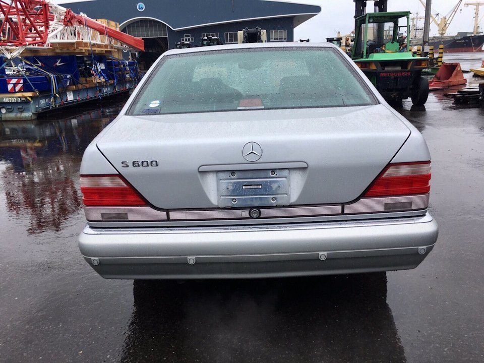 Mercedes S-class W140 S600 V12 (5)