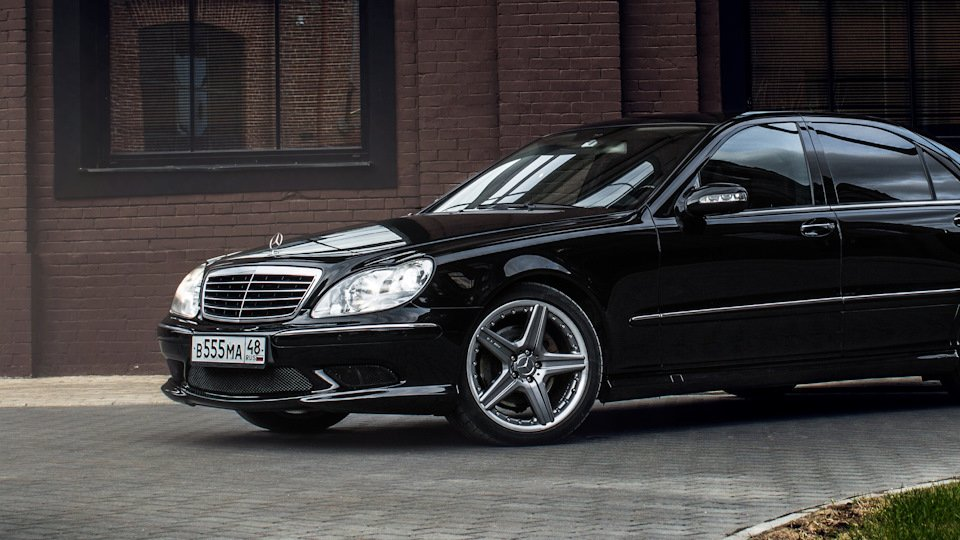 Mercedes S-class W220 EXCLUSIVE S55 AMG (10)