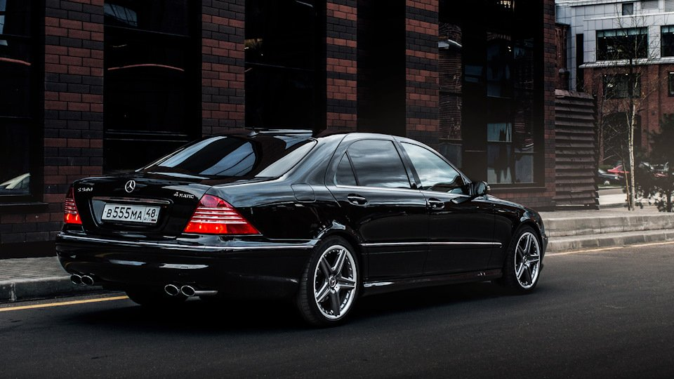 Mercedes S-class W220 EXCLUSIVE S55 AMG (11)