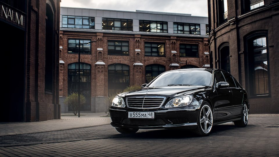Mercedes S-class W220 EXCLUSIVE S55 AMG (12)