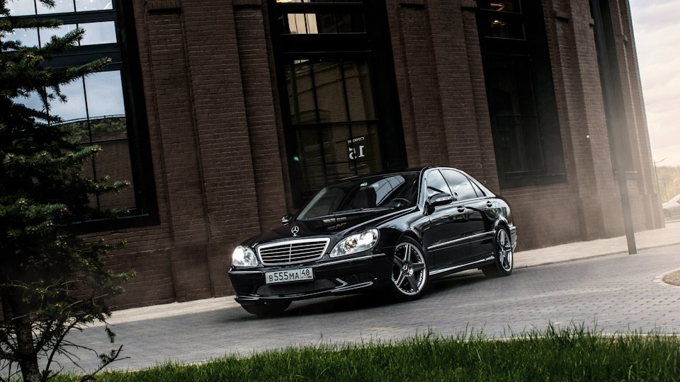 Mercedes S-class W220 EXCLUSIVE S55 AMG (13)