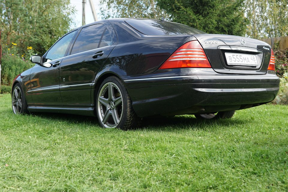 Mercedes S-class W220 EXCLUSIVE S55 AMG (14)
