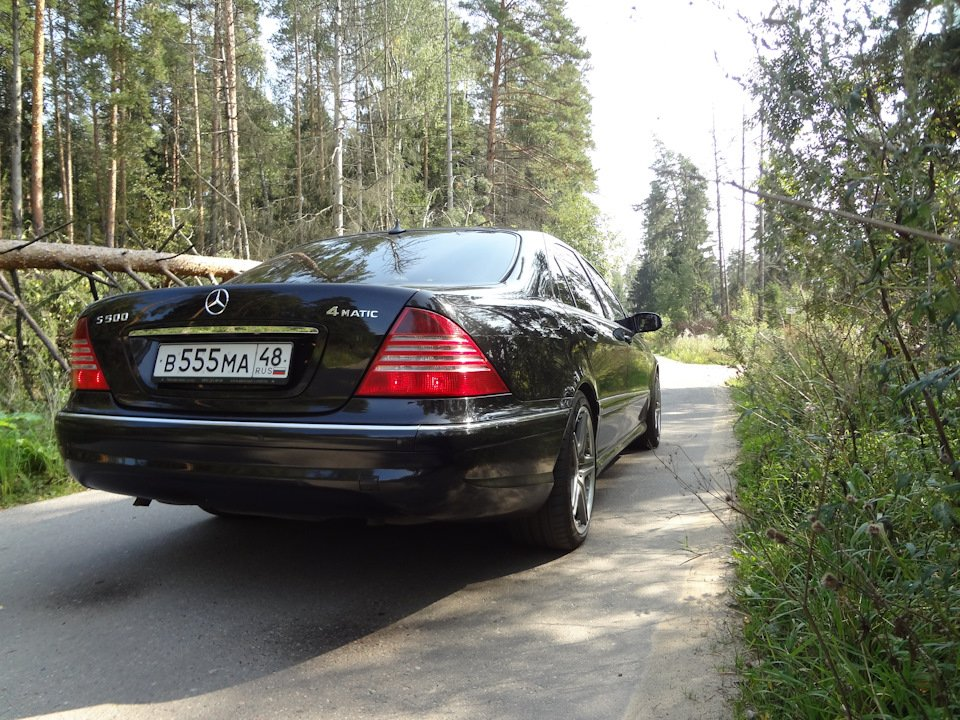 Mercedes S-class W220 EXCLUSIVE S55 AMG (15)