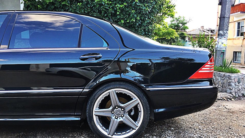 Mercedes S-class W220 EXCLUSIVE S55 AMG (17)