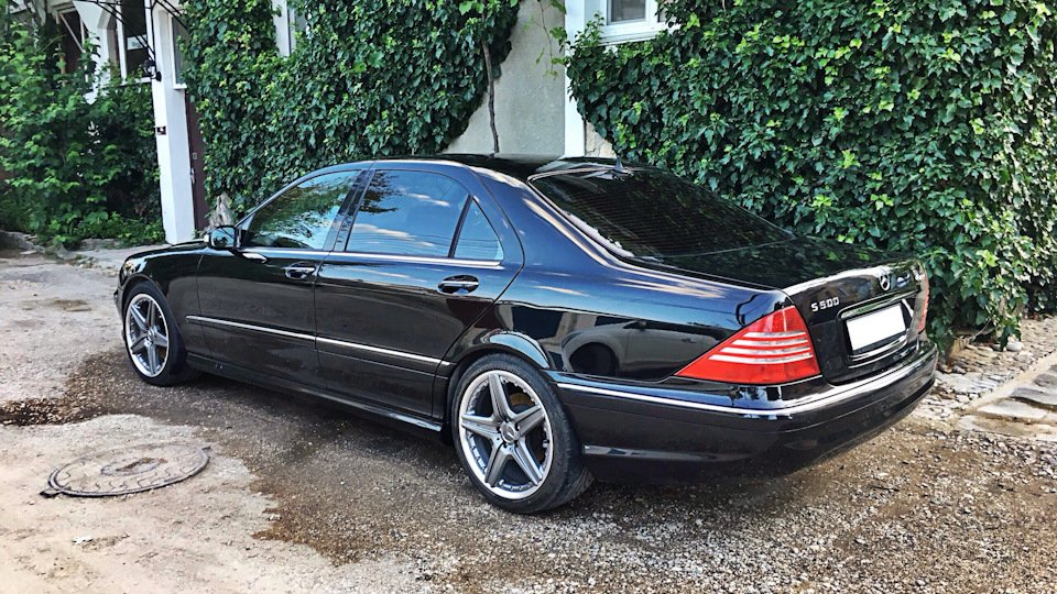 Mercedes S-class W220 EXCLUSIVE S55 AMG (18)
