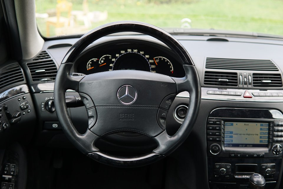 Mercedes S-class W220 EXCLUSIVE S55 AMG (1)