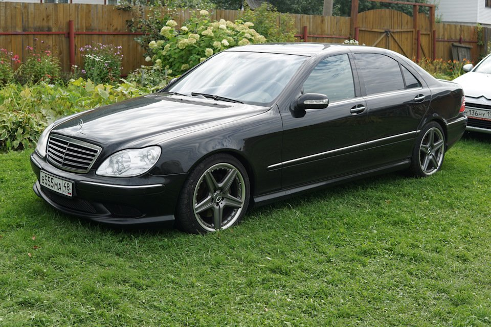 Mercedes S-class W220 EXCLUSIVE S55 AMG (22)