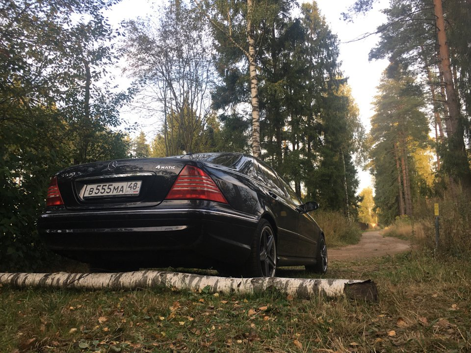 Mercedes S-class W220 EXCLUSIVE S55 AMG (24)