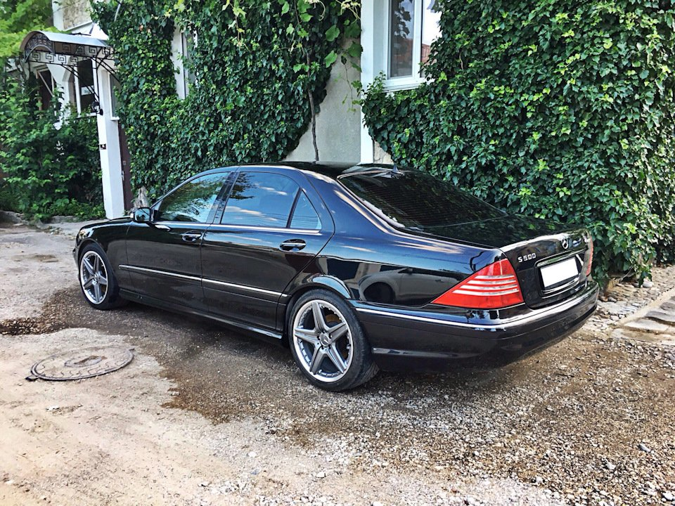 Mercedes S-class W220 EXCLUSIVE S55 AMG (25)