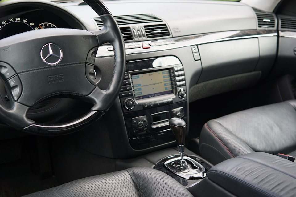 Mercedes S-class W220 EXCLUSIVE S55 AMG (26)
