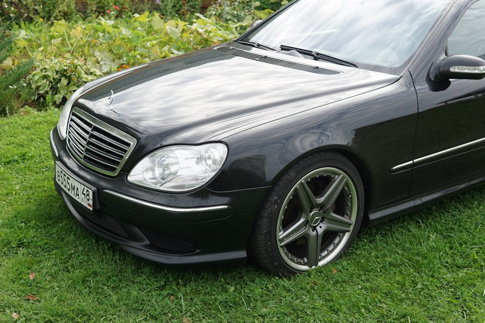 Mercedes S-class W220 EXCLUSIVE S55 AMG (27)