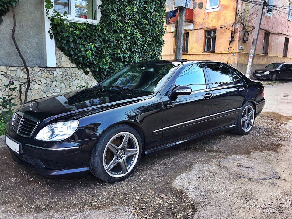 Mercedes S-class W220 EXCLUSIVE S55 AMG (28)