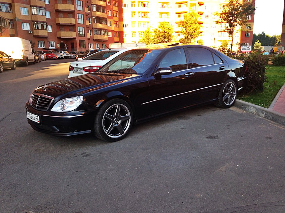 Mercedes S-class W220 EXCLUSIVE S55 AMG (30)