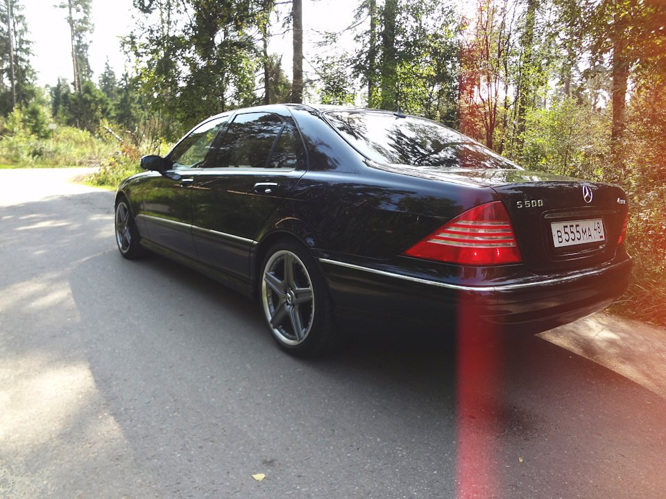 Mercedes S-class W220 EXCLUSIVE S55 AMG (31)