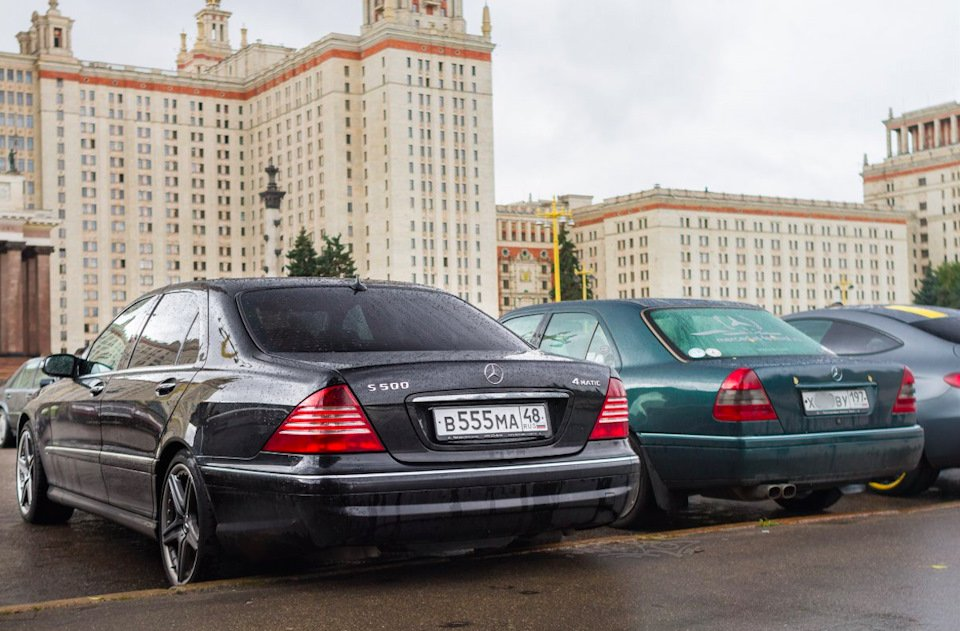 Mercedes S-class W220 EXCLUSIVE S55 AMG (35)