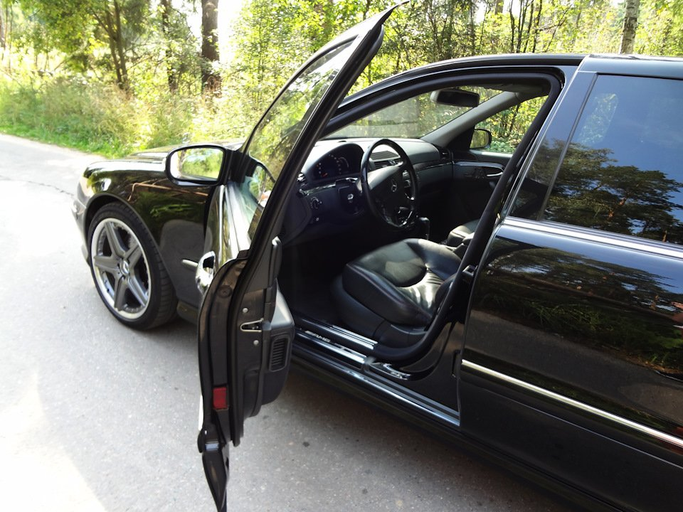 Mercedes S-class W220 EXCLUSIVE S55 AMG (36)
