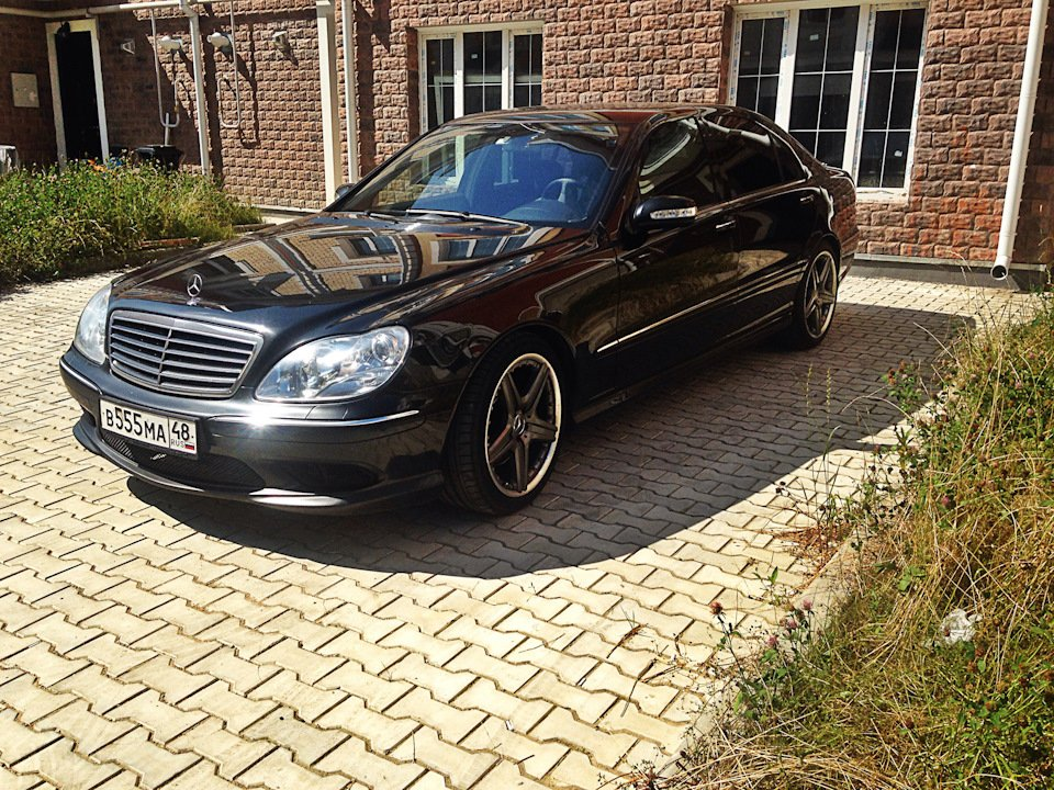 Mercedes S-class W220 EXCLUSIVE S55 AMG (40)