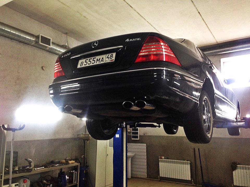 Mercedes S-class W220 EXCLUSIVE S55 AMG (42)