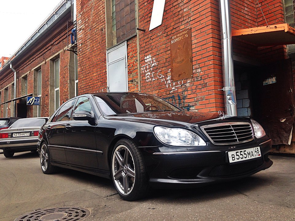 Mercedes S-class W220 EXCLUSIVE S55 AMG (4)