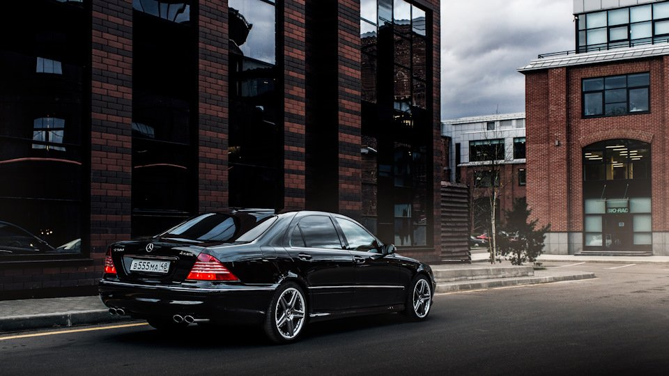 Mercedes S-class W220 EXCLUSIVE S55 AMG (7)
