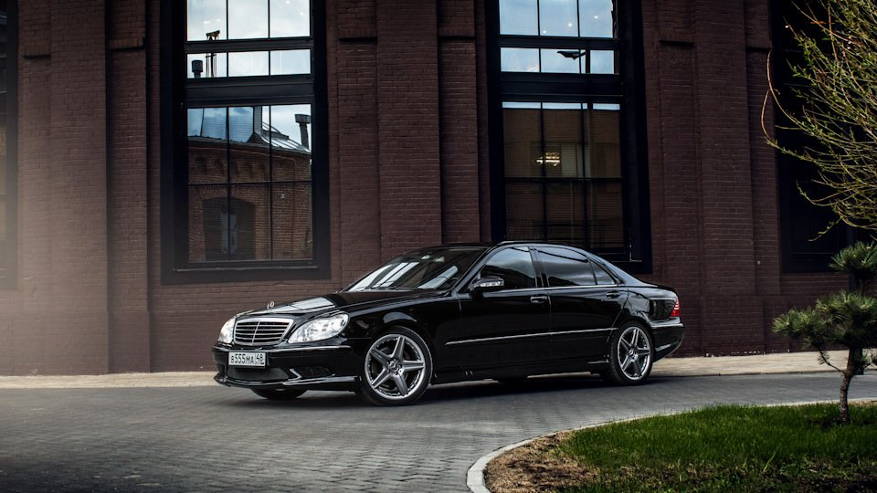 Mercedes S-class W220 EXCLUSIVE S55 AMG (8)