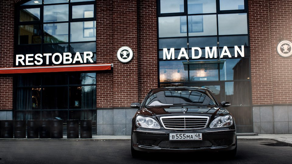 Mercedes S-class W220 EXCLUSIVE S55 AMG (9)