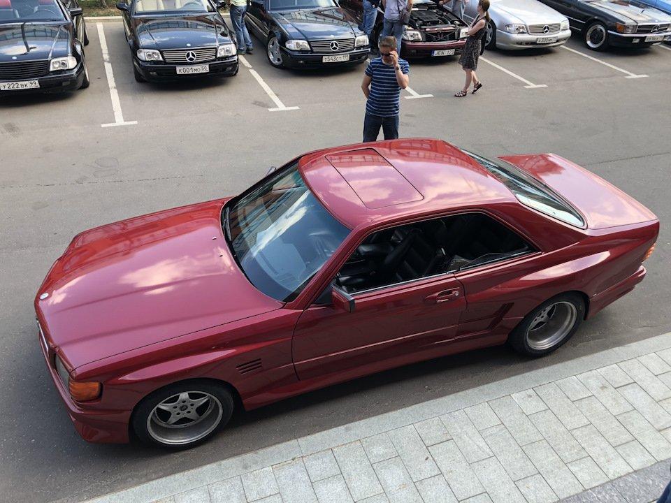 Mercedes SEC-class Koenig Specials C126 5.0 V8 (24)