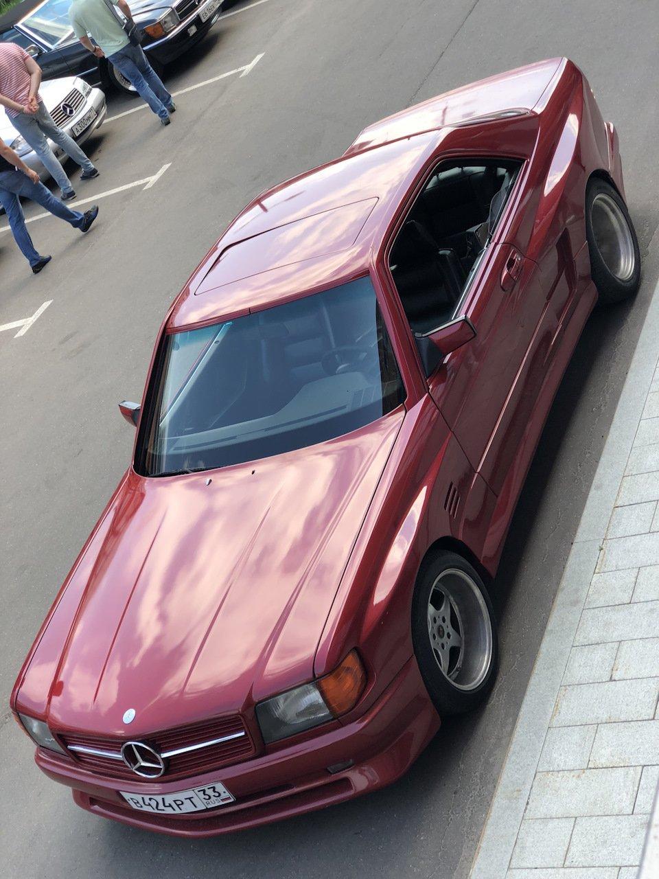 Mercedes SEC-class Koenig Specials C126 5.0 V8 (31)