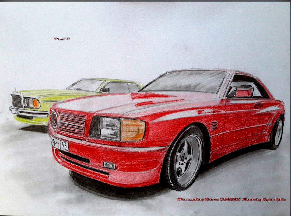 Mercedes SEC-class Koenig Specials C126 5.0 V8 (3)