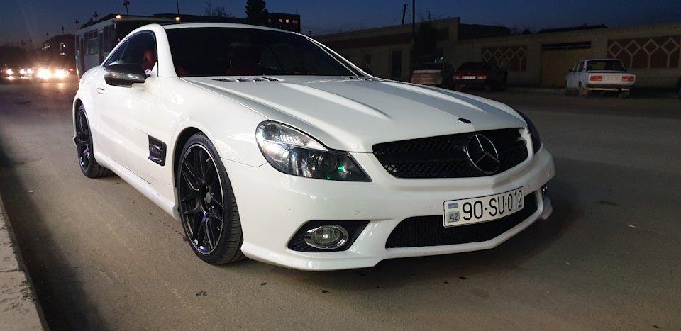 Mercedes SL55 AMG R230 (21)