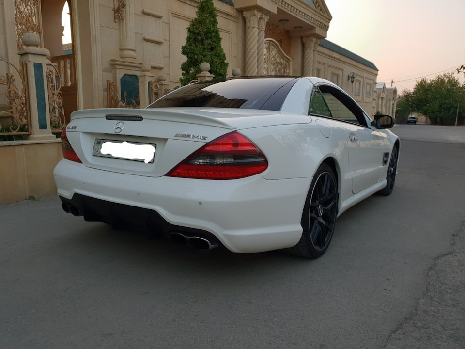 Mercedes SL55 AMG R230 (28)