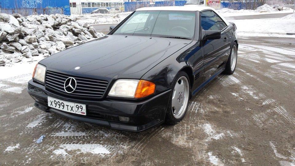Mercedes SL60 AMG R129 6.0 V12 1995 (10)