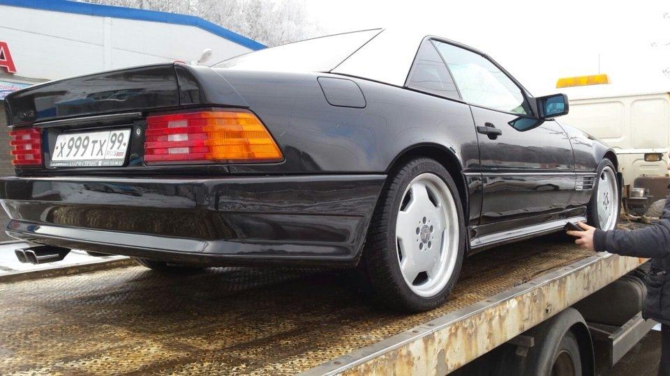 Mercedes SL60 AMG R129 6.0 V12 1995 (5)