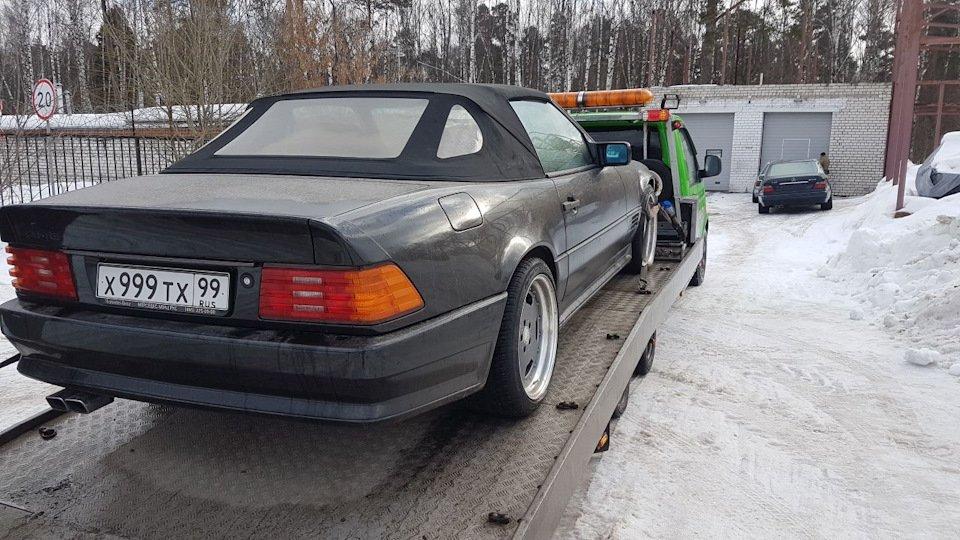 Mercedes SL60 AMG R129 6.0 V12 1995 (7)