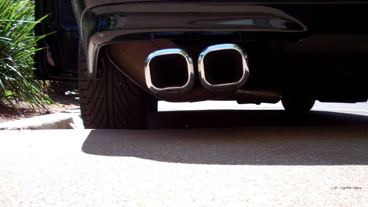 Mercedes-Benz w202 Kompressor Straight-Pipe to Lorinser Muffler