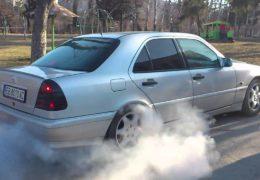 Mercedes W202 Kompressor Burnout