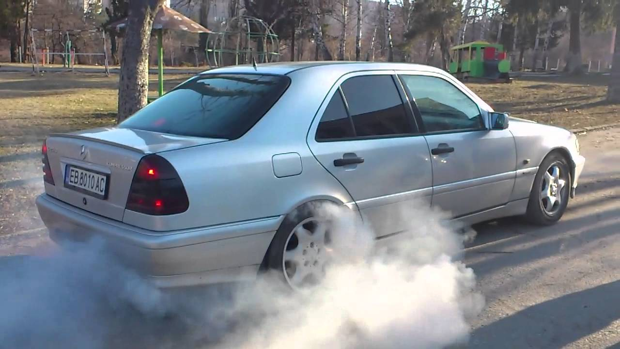 Mercedes W202 Kompressor Burnout