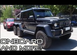 [MONSTER] Brabus 700 6×6 – Onboard, Acceleration, Revs and MORE!