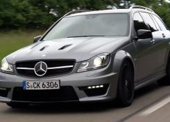 2014 Mercedes-Benz C63 AMG Edition 507 Wagon! The Modern Hammer Wagon?