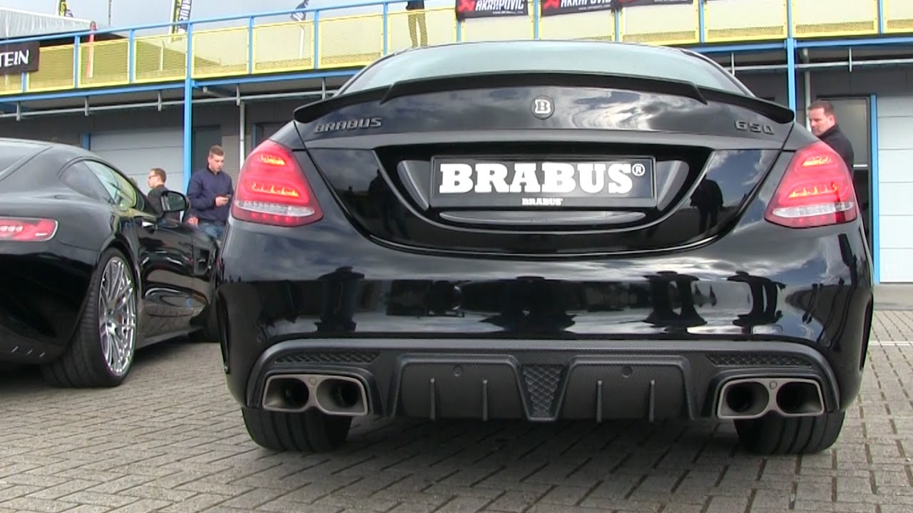 2016 Brabus 650 4.0 Biturbo V8 C63 S AMG | REVS + Detailshots
