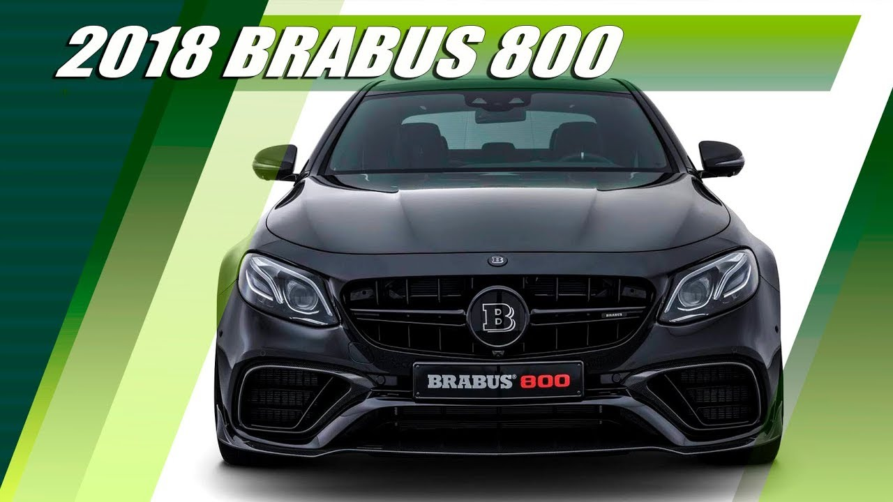 2018 BRABUS 800 (Mercedes-AMG E63S 4MATIC+ By Brabus)