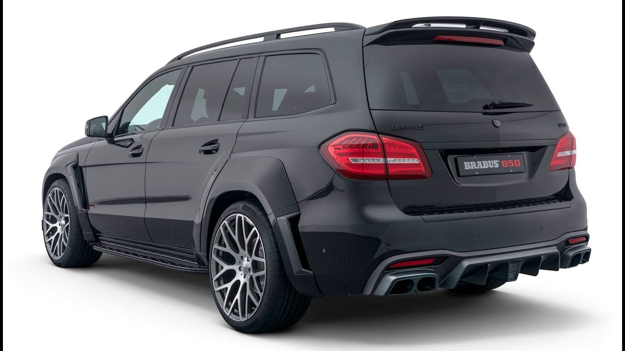 2018 BRABUS 850 based on Mercedes-AMG GLS 63 x166