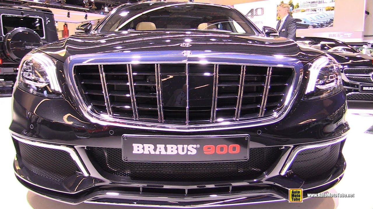 2018 Mercedes AMG S65 Brabus 900 - Exterior and Interior Walkaround