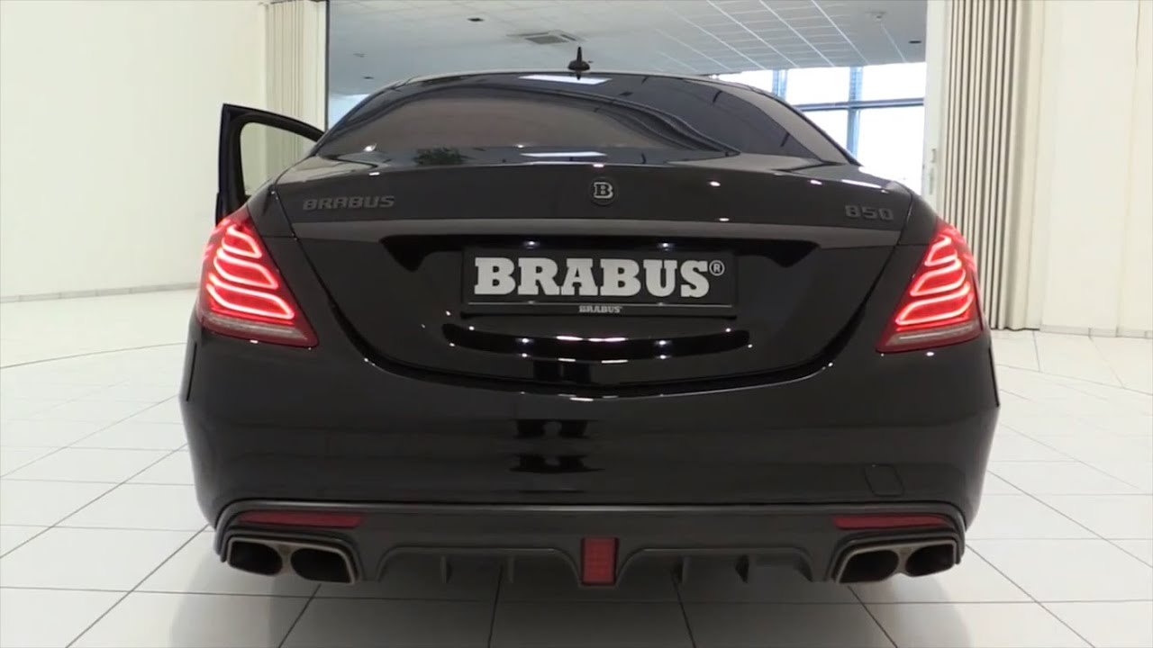 2018 Mercedes-Benz BRABUS and AMG SOUND