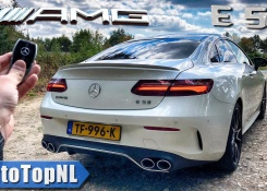2019 Mercedes E53 AMG Coupe REVIEW POV Test Drive on Autobahn