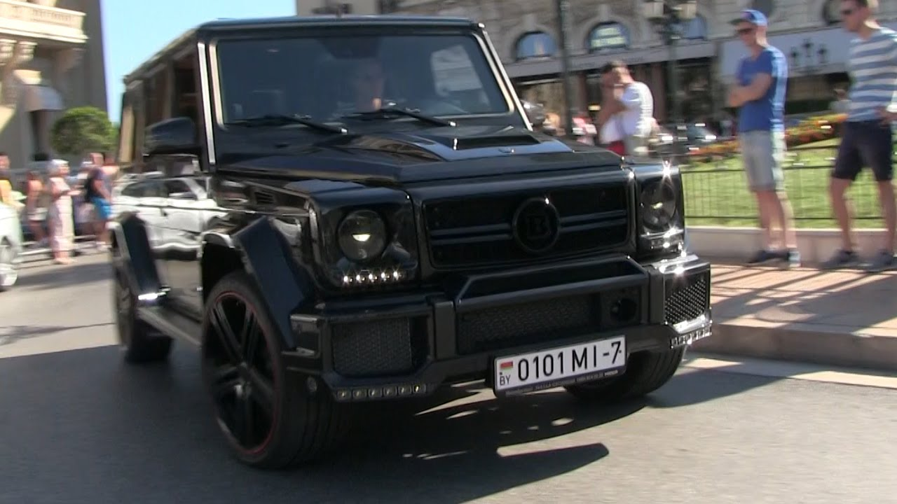 700HP 'Brabus B70' Mercedes G63 AMG in Monaco | EPIC SOUND!